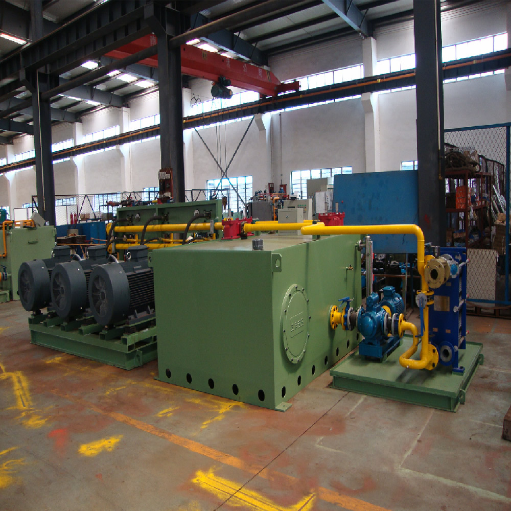 Hydraulic system valve station in front of furnace of Jilin Tonggang